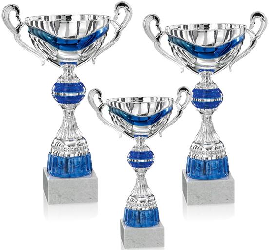 Pokale aus 3er Pokalserie: 9-29-32 - 9-29-34, 29 - 36 cm