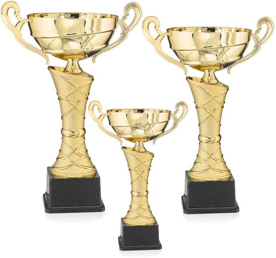 Pokale aus 3er Pokalserie: 9-32-32 - 9-32-34 , 31 - 39 cm