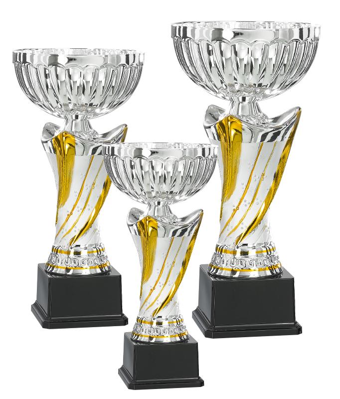 Pokale aus 3er Pokalserie: 9-41-11-3, 33 - 36 cm