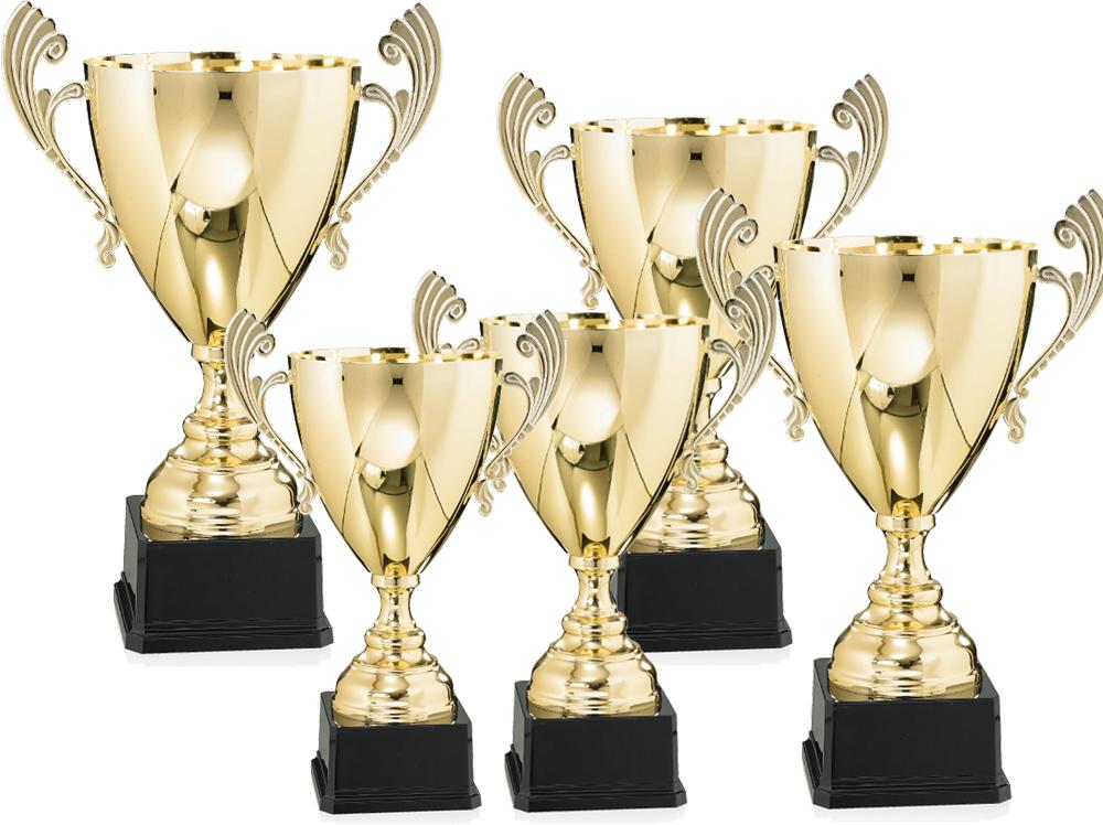 Pokale aus 5er Pokalserie: 9-57-41-9-57-45.5, 30 - 47 cm