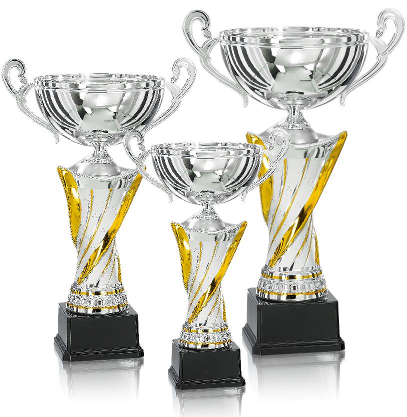 Pokale aus 3er Pokalserie: 9-59-31-9-59-33.3, 37 - 54 cm