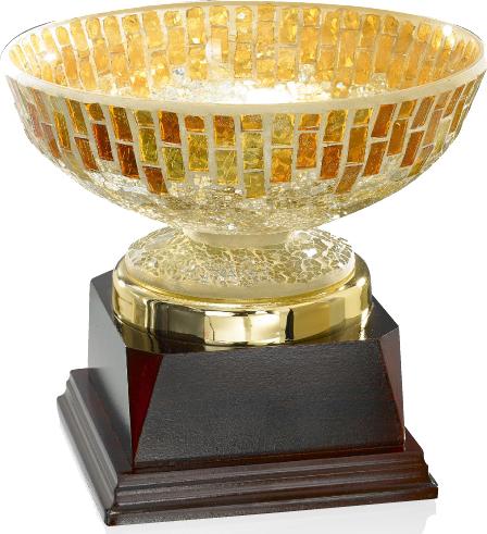 Pokal / Einzelpokal: 9-66-43, 31,0 cm