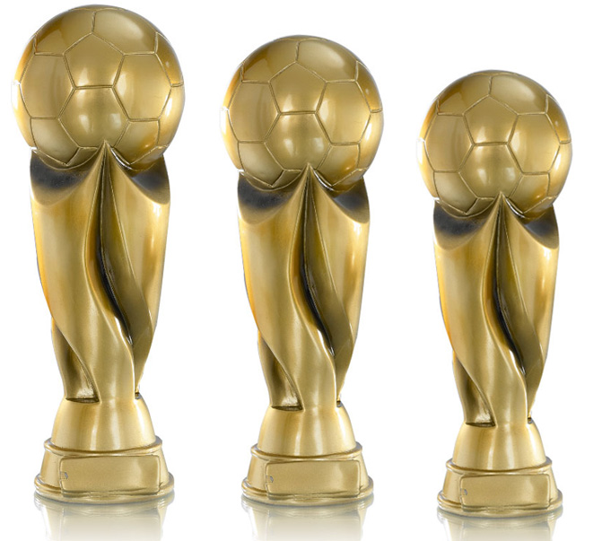 Pokale aus 3er Resin-Pokalserie: 9-83-13701 - 9-83-13703 in 20 bis 36 cm