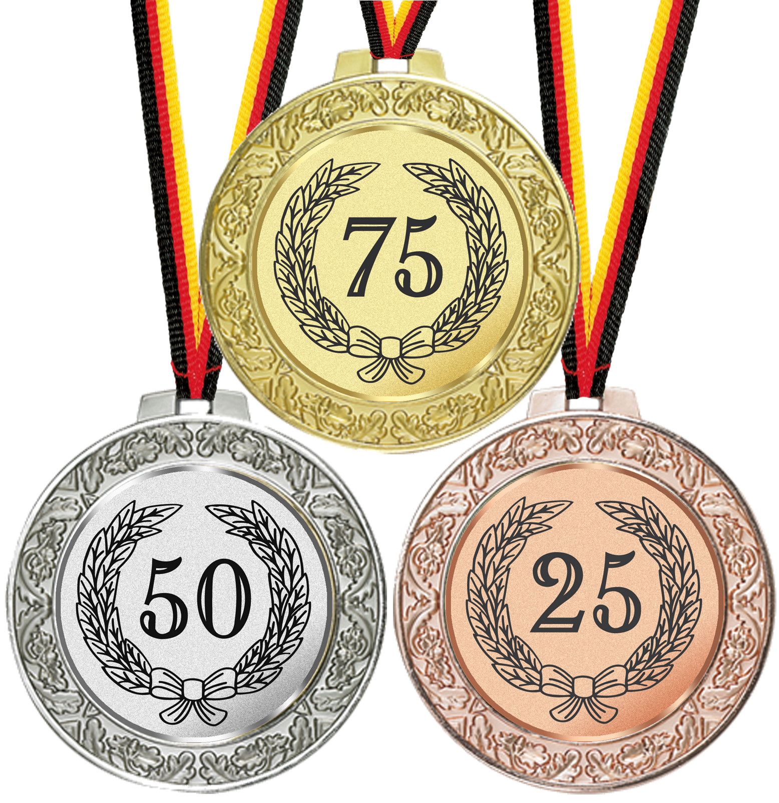 Pokal Emblem Hockey 50 mm//gold