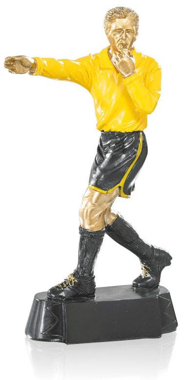 Pokal Fussball Figur Schiedsrichter 20cm