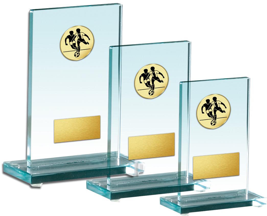 Auswahl aus Glastrophäenserie 16 - 21cm