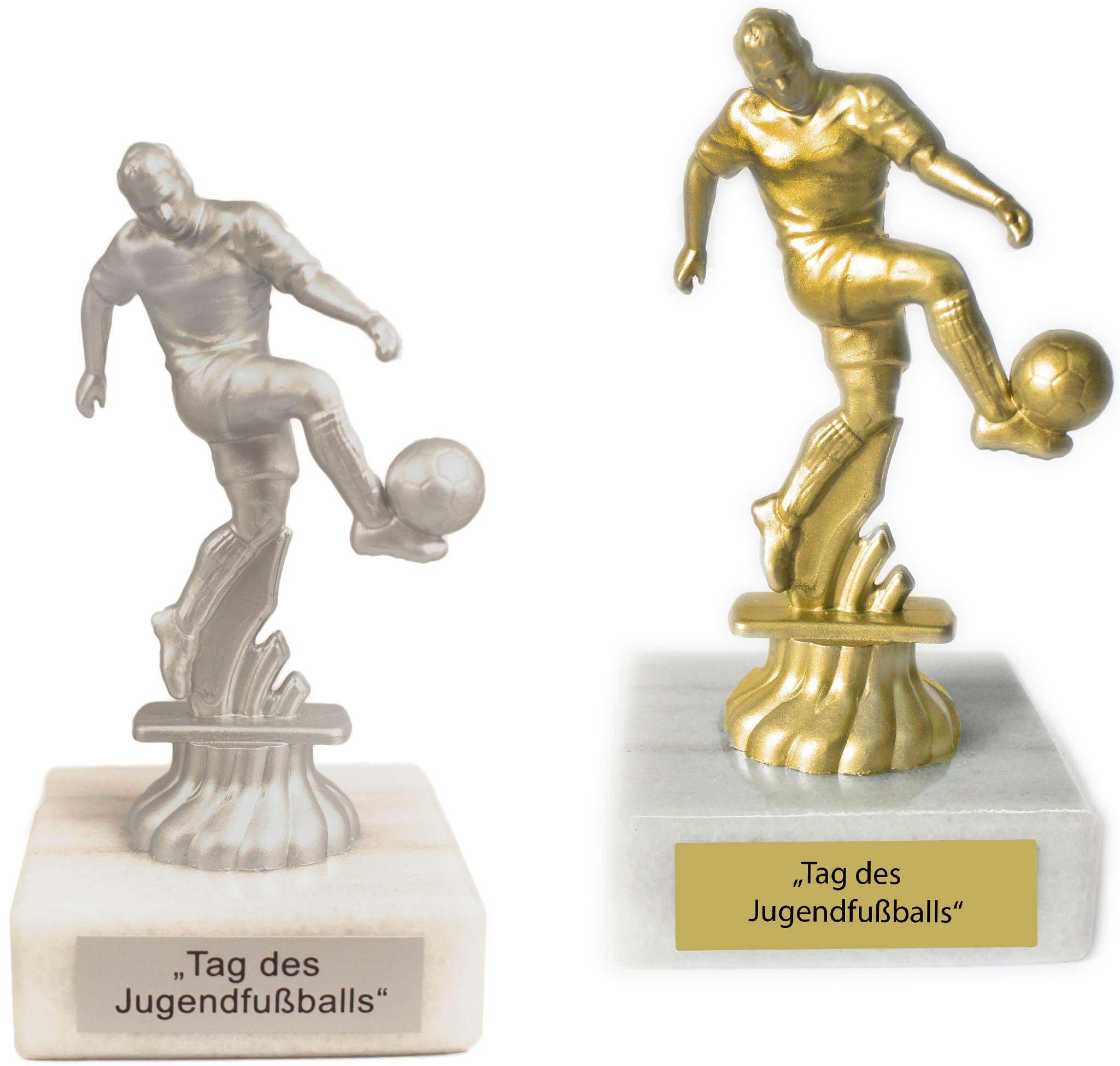 Figur Fussball 11cm Unmontiert