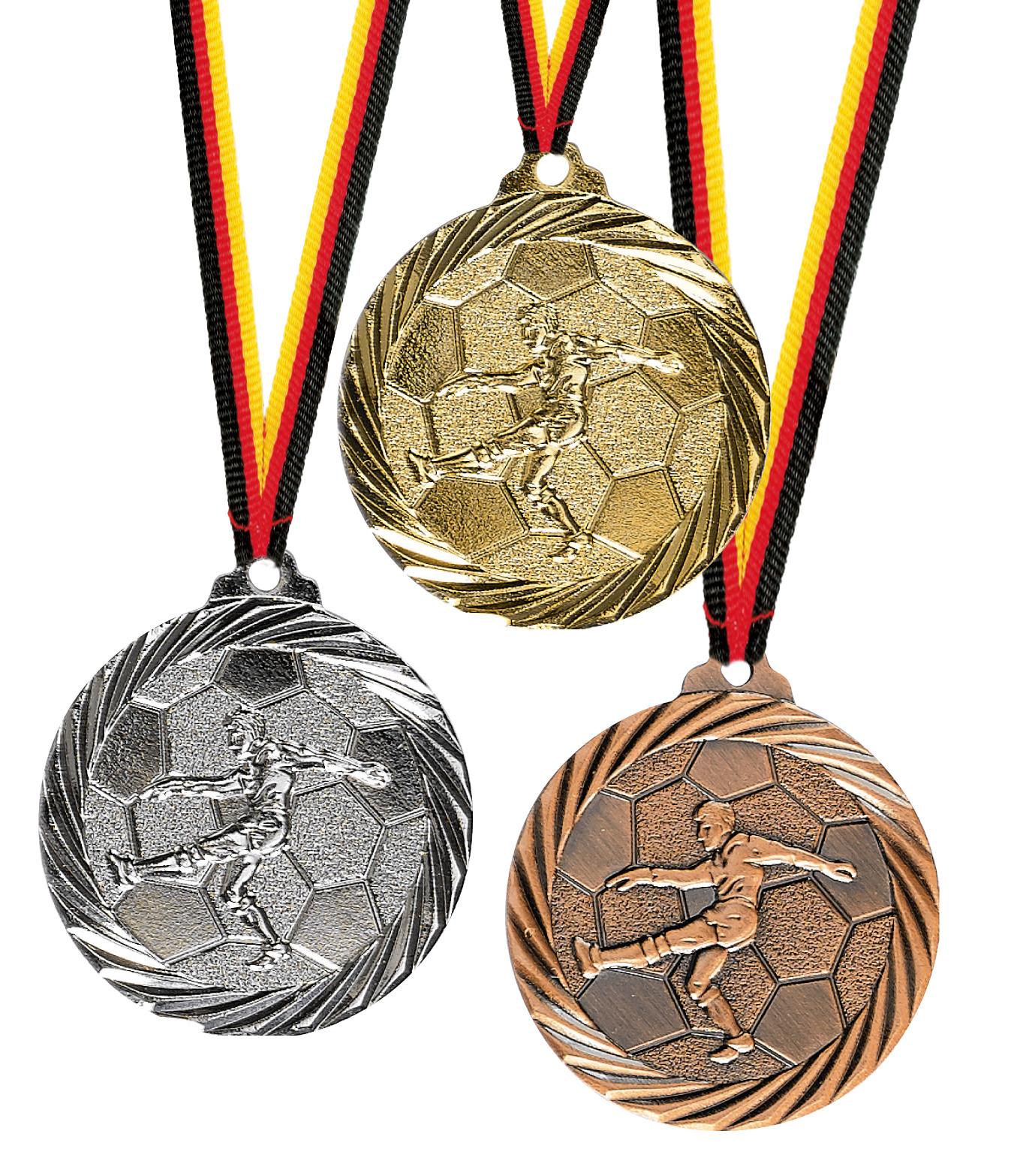 Medaillen günstig kaufen Fussball