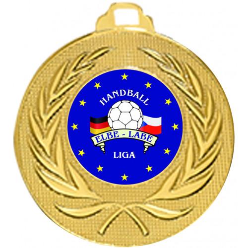 Medaille mit Ihrem Emblem 50mm Ø
