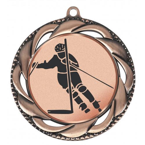 Medaille mit Emblem 70 mm Ø
