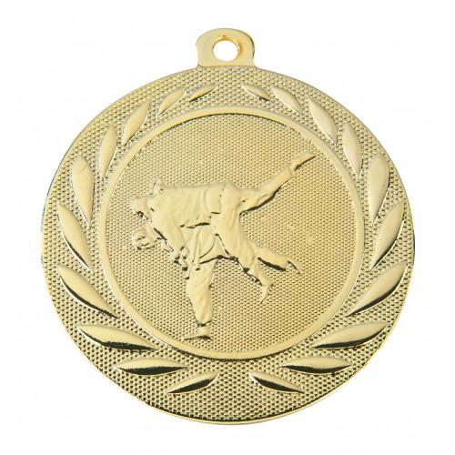 Judo Medaille geprägt 50mm Ø