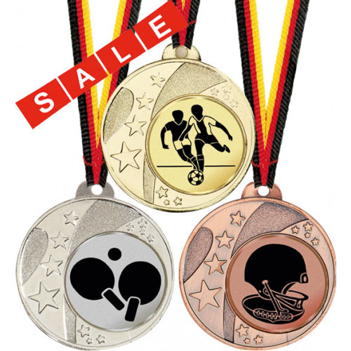 MINI-Medaille alle Sportarten 40mm Ø