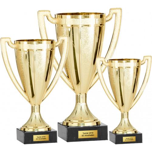 Auswahl aus 3er Pokalserie 12 - 18cm