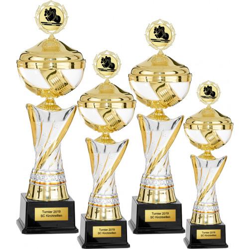 Auswahl aus 4er Pokalserie 39 - 50cm