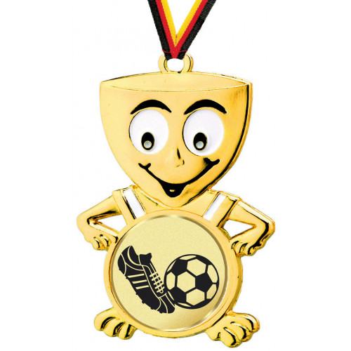 Kinder Medaillen Fußball
