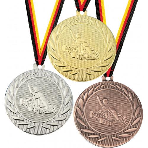 Medaillen preiswert Kart