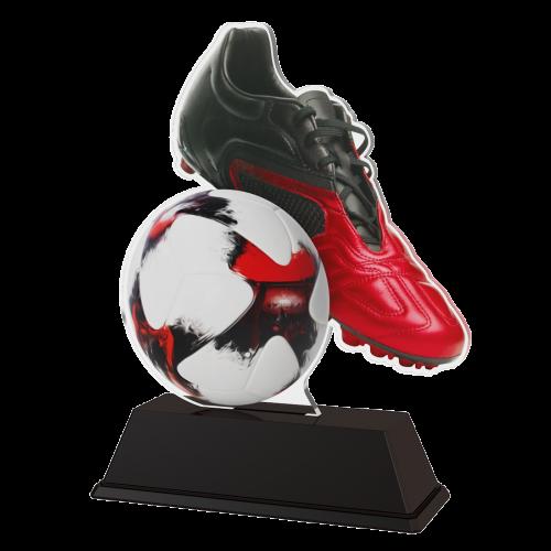 Sieger Figur Trophäe - Fussballschuh