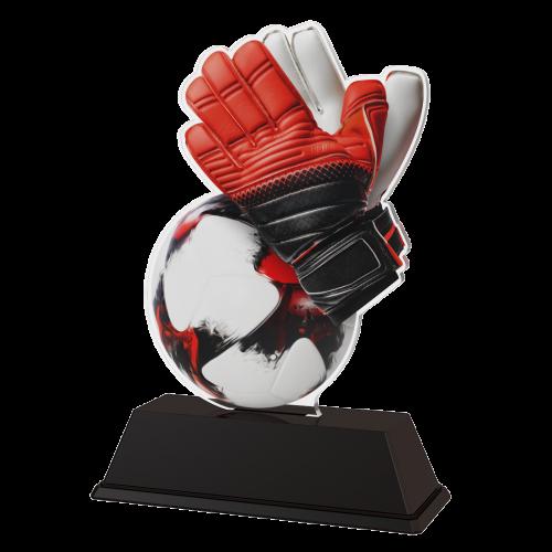 Sieger Figur Trophäe - Fussballhandschuhe