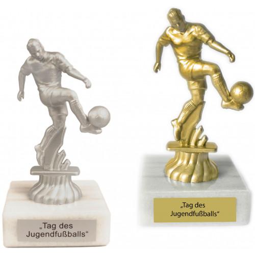 Figur Fußball 11cm unmontiert