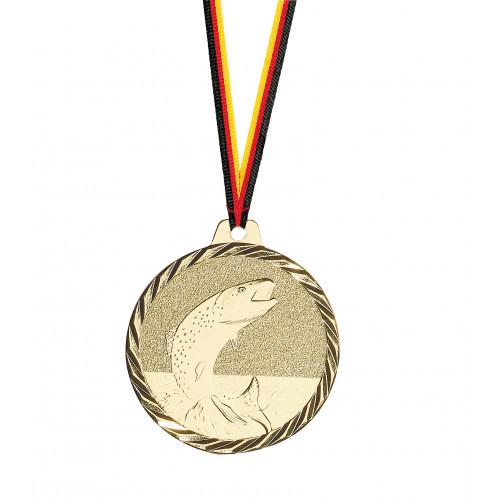 Medaille, Angeln, günstig, schön