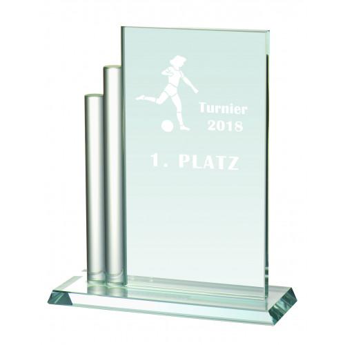 Auswahl aus Glastrophäenserie 17,7 bis 23,5 cm