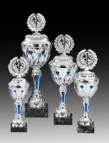 Pokale aus 4er Pokalserie: 68980 - 68983, 29,0 - 34,0 cm