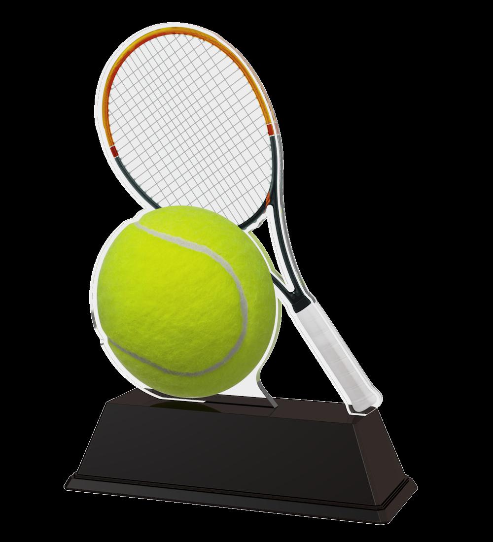 Tennis-Trophäe (M13) in 3 Größen: 14,5 cm, 15,5 cm oder 16,5 cm... Figuren Pokal ohne Emblem