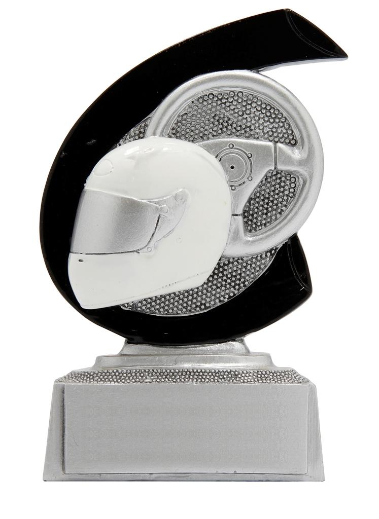 Motorsport-Preis in 7,5 cm Figuren Pokal ohne Emblem