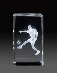 Auswahl des 3D-Glasständer: GLZ 353, 5,0 x 5,0 x 8,0 cm