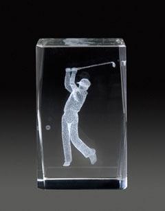 Auswahl des 3D-Glasständer: GLZ 356, 5,0 x 5,0 x 8,0 cm