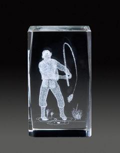Auswahl des 3D-Glasständer: GLZ 362, 5,0 x 5,0 x 8,0 cm