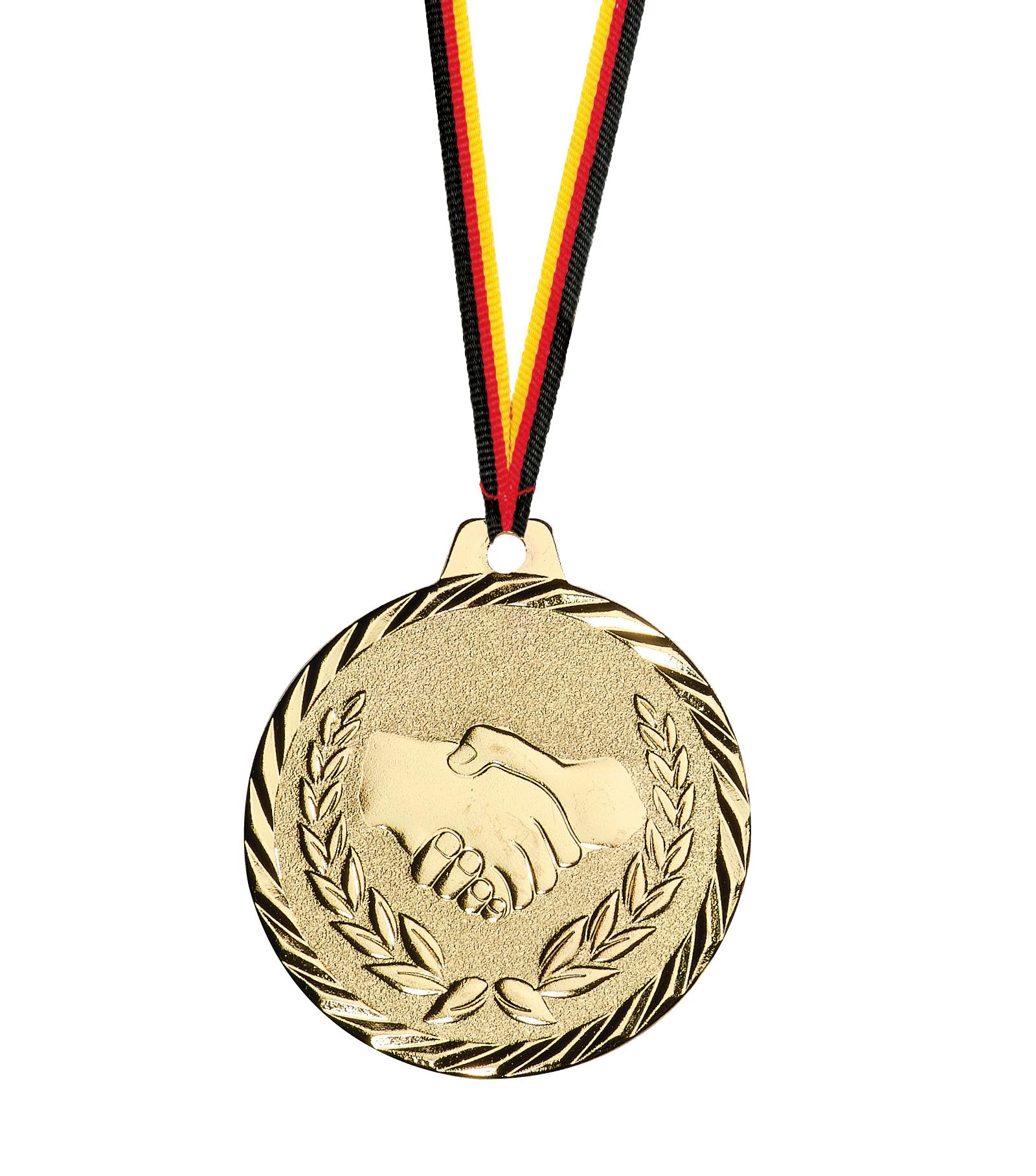 Siegermedaille geprägt Medaillen Premium hochwertig edel