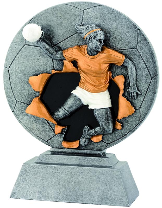 Handball Frauen XP1061 16,0 cm Figuren Pokal ohne Emblem